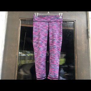 Aeropostale Yoga  Dye Capri Crop Tights Pants